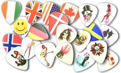 Pickfactory photo picks guitar picks wedding picks cool picks halloween picks flag